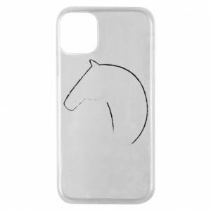 Etui na iPhone 11 Pro Nadruk - koń