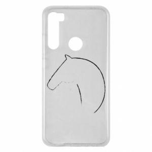 Etui na Xiaomi Redmi Note 8 Nadruk - koń