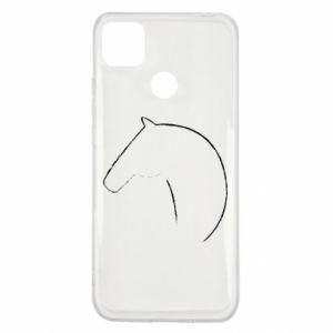 Etui na Xiaomi Redmi 9c Nadruk - koń