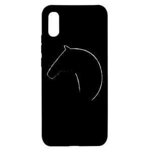 Etui na Xiaomi Redmi 9a Nadruk - koń