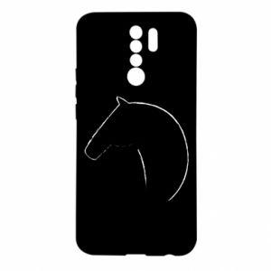 Etui na Xiaomi Redmi 9 Nadruk - koń