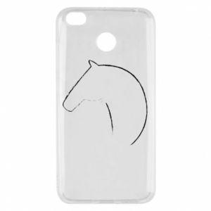 Etui na Xiaomi Redmi 4X Nadruk - koń