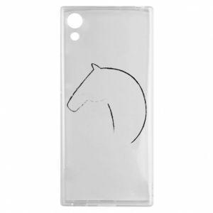 Etui na Sony Xperia XA1 Nadruk - koń