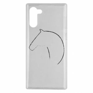 Etui na Samsung Note 10 Nadruk - koń