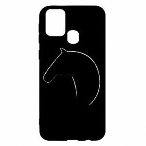 Etui na Samsung M31 Nadruk - koń