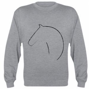 Bluza (raglan) Nadruk - koń