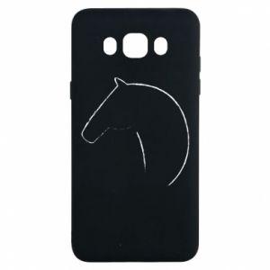 Etui na Samsung J7 2016 Nadruk - koń