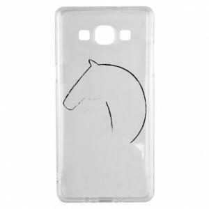 Etui na Samsung A5 2015 Nadruk - koń