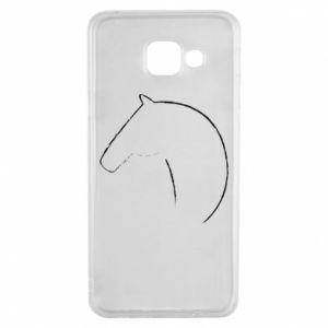 Etui na Samsung A3 2016 Nadruk - koń