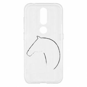 Etui na Nokia 4.2 Nadruk - koń
