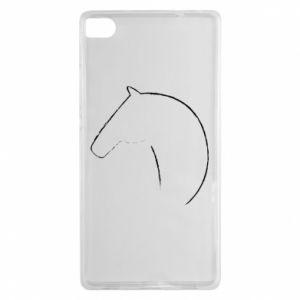 Etui na Huawei P8 Nadruk - koń