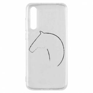 Etui na Huawei P20 Pro Nadruk - koń
