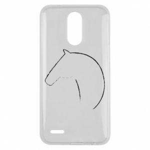 Etui na Lg K10 2017 Nadruk - koń