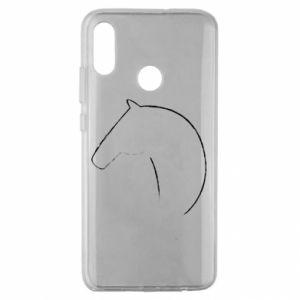 Etui na Huawei Honor 10 Lite Nadruk - koń