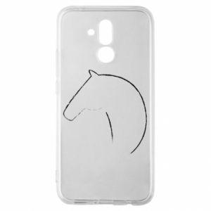 Etui na Huawei Mate 20 Lite Nadruk - koń