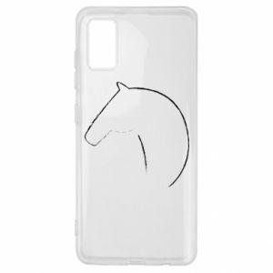 Etui na Samsung A41 Nadruk - koń