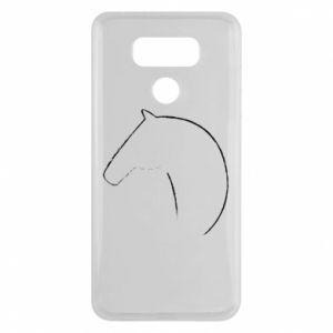 Etui na LG G6 Nadruk - koń