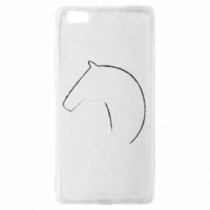 Etui na Huawei P 8 Lite Nadruk - koń