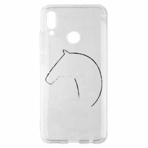 Etui na Huawei P Smart 2019 Nadruk - koń