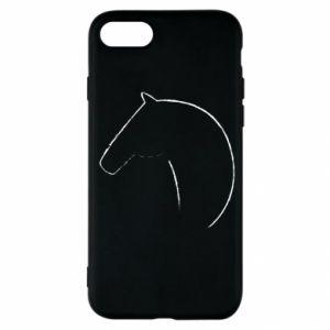 Etui na iPhone SE 2020 Nadruk - koń