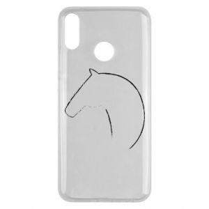 Etui na Huawei Y9 2019 Nadruk - koń
