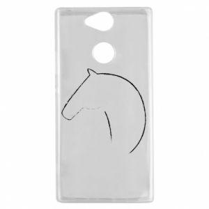 Etui na Sony Xperia XA2 Nadruk - koń