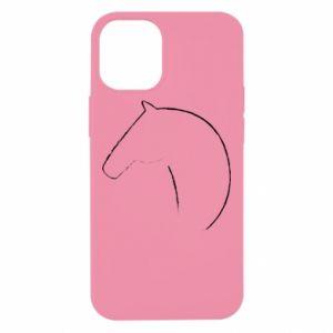 Etui na iPhone 12 Mini Nadruk - koń