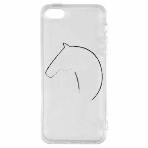 Etui na iPhone 5/5S/SE Nadruk - koń