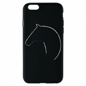 Etui na iPhone 6/6S Nadruk - koń