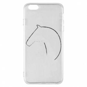 Etui na iPhone 6 Plus/6S Plus Nadruk - koń