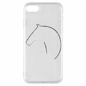 Etui na iPhone 7 Nadruk - koń
