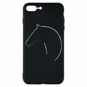 Etui do iPhone 7 Plus Nadruk - koń