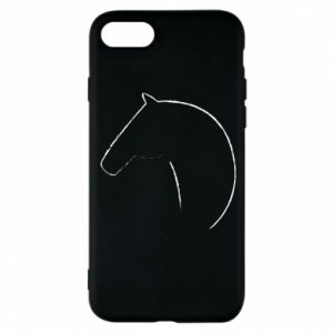 Etui na iPhone 8 Nadruk - koń