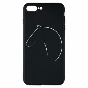 Etui na iPhone 8 Plus Nadruk - koń