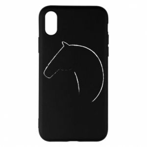 Phone case for iPhone X/Xs Print - horse