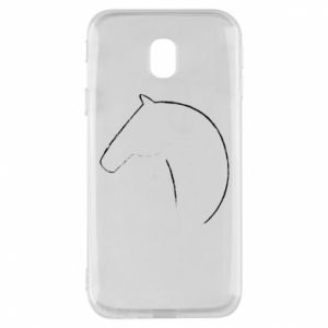 Phone case for Samsung J3 2017 Print - horse