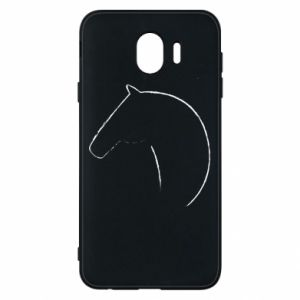 Etui na Samsung J4 Nadruk - koń