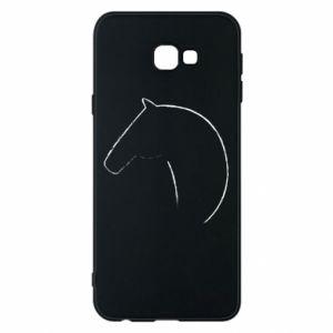 Etui na Samsung J4 Plus 2018 Nadruk - koń