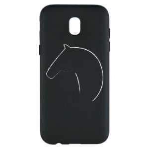 Phone case for Samsung J5 2017 Print - horse