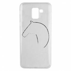Etui na Samsung J6 Nadruk - koń