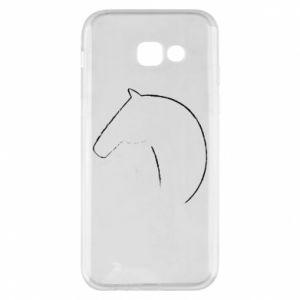 Etui na Samsung A5 2017 Nadruk - koń