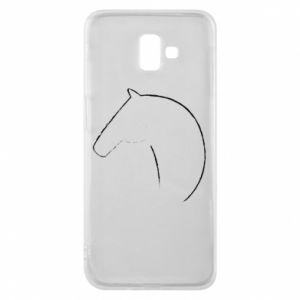 Etui na Samsung J6 Plus 2018 Nadruk - koń