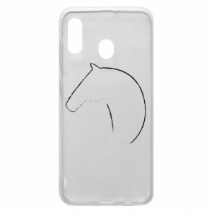 Phone case for Samsung A20 Print - horse