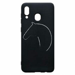 Etui na Samsung A30 Nadruk - koń