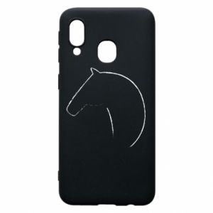 Phone case for Samsung A40 Print - horse