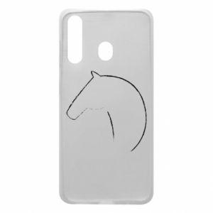 Etui na Samsung A60 Nadruk - koń
