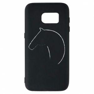 Etui na Samsung S7 Nadruk - koń