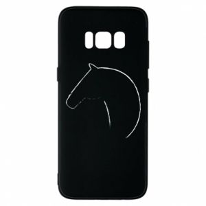 Phone case for Samsung S8 Print - horse