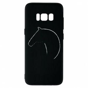Etui na Samsung S8 Nadruk - koń