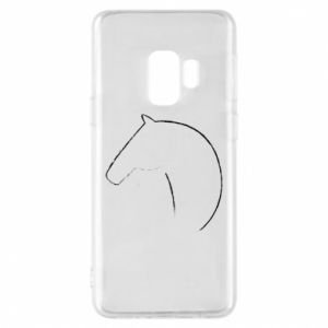 Phone case for Samsung S9 Print - horse